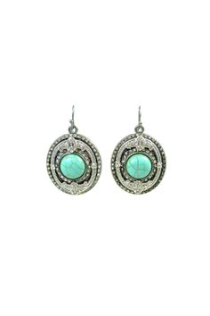 Delphine Earrings in Turquoise