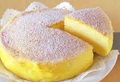 Cheesecake Japonais avec seulement 3 ingrédients ! Ingrédients: 120 gr de chocolat blanc 3 oeufs 120 gr de Philadelphia