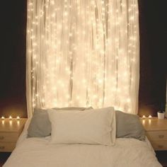 IKEA LILLSheer curtains 1 pair white essential for your fairy light bedroom in Home & Garden, Curtains & Blinds, Curtains | eBay
