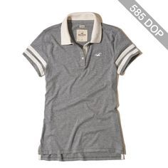 Hollister Slim Stripe Icon Polo
