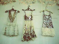 Sparkly dresses!