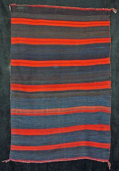 Navajo Moki Blanket, (formerly in the collection of Tony Bayeta) ca. 1870