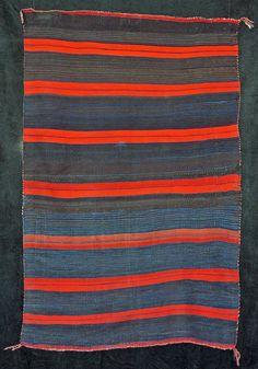 Navajo Moki Blanket, (formerly in the collection of Tony Bayeta) ca. 1870