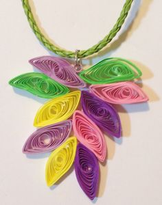 Hey, I found this really awesome Etsy listing at https://www.etsy.com/listing/208263589/quilling-quilling-necklace-quilling