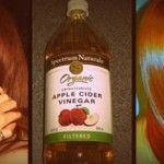 Unfiltered apple cider vinegar works great for your hair and scalp. It cleanses your hair, giving it more body and luster, and it also prevents hair-loss. Apple cider vinegar relieves itchy scalp and eliminates dandruff by destroying any bacteria or fungi...