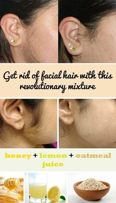 Get rid of facial hair with this revolutionary mixture - WomenIdeas.net