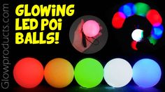 Glowing_LED_Poi_Balls | by Glow Products