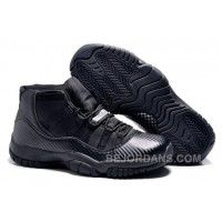 "Big Discount! Shop Air Jordan 11 Retro ""Carbon Fiber"" Blacked Out All Black Online JQCaW"