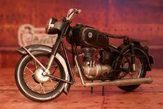 Moto 2 selles #decoration #retro #miniature #moto