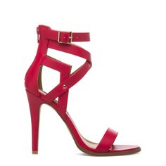 Ianthe - ShoeDazzle Ianthe's modern cutouts and feminine silhouette strike a posh profile. From desk to dinner, this IZABELLA RUE sandal is sure to make a sleek statement.