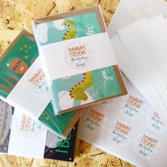 Morning and happy Monday! Packing up a wholesale order on my new work surface in my studio. Jumping on the osb trend :) #osb #diy #wholesale #mondayfunday #greetingcards #packaging #studio
