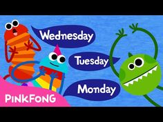 Seven Days | Days of the Week Song | Word Power | PINKFONG Songsfor Children for Children - YouTube