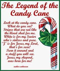 The Legend of the Candy Cane: Free Printable and a ...