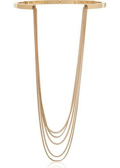 Up the single-strand look with this multi-layered design. #refinery29 http://www.refinery29.com/2015/06/88959/bikini-necklace#slide-8