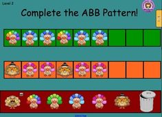 Building Fall Patterns on the Smartboard All the work is done for you - 21 slides using adorable fall clip art! The kids are going to love this!!!