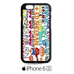ed_sheeran_lyric iPhone 6S  Case