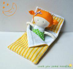 Nite-Nite Lola sleeping bag bed for doll Doll Crafts, Diy Doll, Softies, Doll Toys, Baby Dolls, Tilda Toy, Operation Christmas Child, Fabric Toys, Sewing Dolls