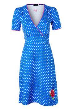 Tante Betsy polkadot dress