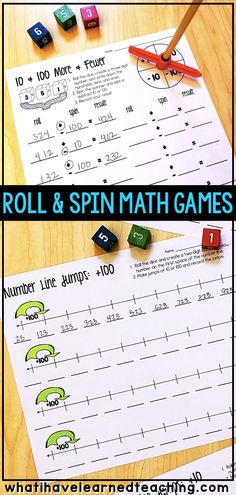 Roll and Spin Math G