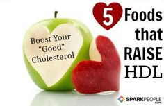 5 Foods That Raise Your HDL Slideshow via @SparkPeople