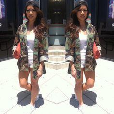 OOTD Blogpost // #fashion #blogger #camoflauge #camo #ootd #styling #casual