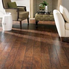 Home Decorators Collection Espresso Pecan 8 Mm Thick X 6 1 8 In Wide X 54 11 32 In Length Laminate Flooring 23 17 Sq Ft Case Dark