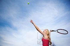 Aim and fire - Tennis