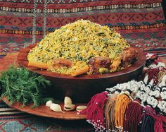 Cooking Persian Food: Dill, Fava Beans, and Rice with Lamb (Baqala Pollo)