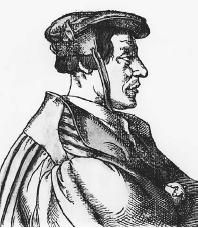 (Henry) Cornelius Agrippa (von Nettesheim) (1486–1535). (FORTEAN PICTURE LIBRARY)    Henry Cornelius Agrippa von Nettesheim, author of The Occult Philosophy,(1531) one of the most influential works in Western occultism, was an accomplished physician, soldier, and occultist who traveled widely throughout Europe. More commonly known as Agrippa, the versatile magus envisioned magic as a blend of scientific knowledge, religious doctrine, and occult secrets.