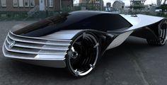 """Cadillac World Thorium Fuel  Carro Cadillac WTF 'é movido' a energia nuclear [Conceito]  O Cadillac World Thorium Fuel ou """"WTF"""" tem características que você não vai encontrar em nenhum outro carro do mundo e provavelmente será lançado apenas no ano 4 mil. Seu combustível nuclear é o tório limpo e não precisa de manutenção por 100 ano ao menos."""