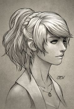 Lunafreya Sketch by JoseDalisayV.deviantart.com on @DeviantArt