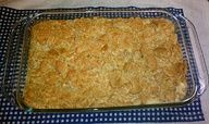 Very hearty chicken casserole recipe! Cheap and easy to make!