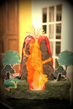 Volcano model science project