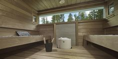 Portable Steam Sauna - We Answer All Your Questions! Sauna Ideas, Outdoor Sauna, Finnish Sauna, Spa Rooms, Wooden House, New Homes, Tubs, Bathroom, Blue Prints