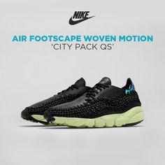 Nike Air Footscape Woven Motion 'Shanghai'