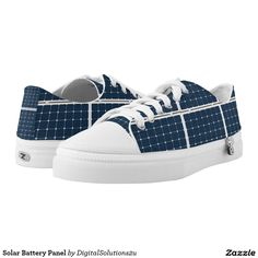 Solar Battery Panel Low-Top Sneakers