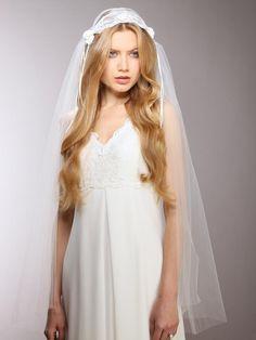 Original Vintage Juliet Bridal Cap Veil