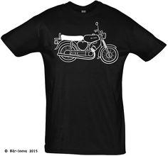 Männer Geschenke T-Shirts - Bär-leena Moped T-Shirt - Schwarz