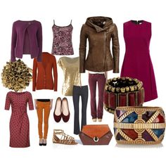 Type 3 Purples and reds with a bit of bling by smbkerr on Polyvore featuring Victoria, Victoria Beckham, Anna's Dress Affair, People Tree, Etro, MICHAEL Michael Kors, Annie Greenabelle, Danier, Firetrap, Hudson Jeans and 7 For All Mankind