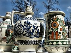 Romanian Peasant was declared the European Museum of the Year in and displays a rich collection of ceramics Carpathian Mountains, Central And Eastern Europe, Clay Design, Bucharest, Traditional Art, Hungary, Folk Art, Museum, Culture