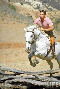 This rocks so hard: President Ronald Reagan