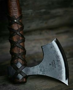 "hammer-ov-thor: "" Axe by John Neeman """