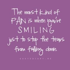 ...and because you know everyone else is looking at you with tears in their eyes, holding their breath & you know no one will have fun unless you pretend to be okay in that moment, therefore you'll do anything you can to keep your own tears at bay!