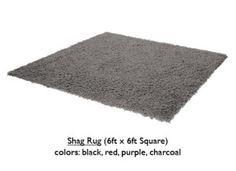 ShagRug-Charcoal - http://loungeappeal.com/packages/