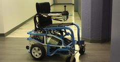 Forget electricity — this wheelchair is powered by nothing but compressed air