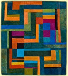 "Moving On, 36 x 31"", by Ellin Larimer"