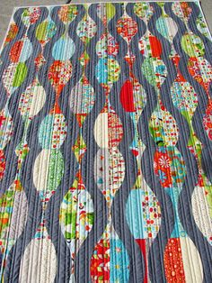 Urban candy quilt with quick curve ruler