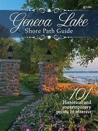 Geneva Lake Shore Path Guide includes trail information and estate information. $8