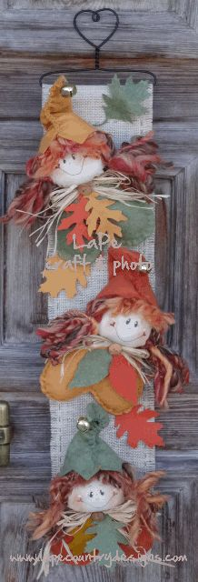LaPe Country Designs: Free Project - Folletti d'Autunno