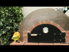 Manos a la obra, horno de barro - YouTube Wood Oven, Wood Fired Oven, Outdoor Oven, O Gas, Stove Oven, Barbacoa, Bbq Grill, Brick, Backyard
